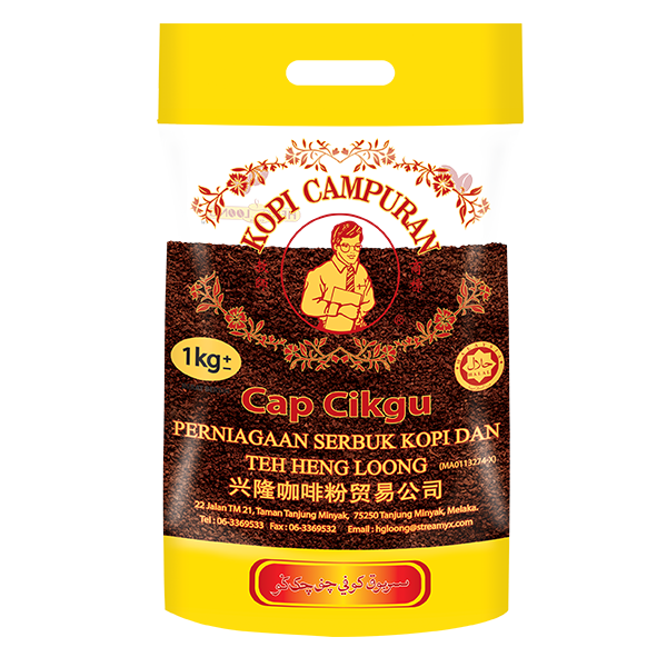 Heng Loong Coffee Products Capcikgu coffee powder 1kg