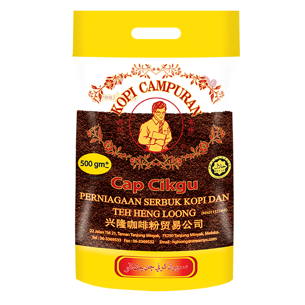 Heng Loong Coffee Products Capcikgu coffee powder 500g