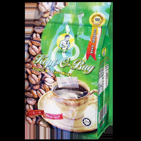 Heng Loong Coffee Products Capcikgu kopi-o-bag economy pack 100pkts
