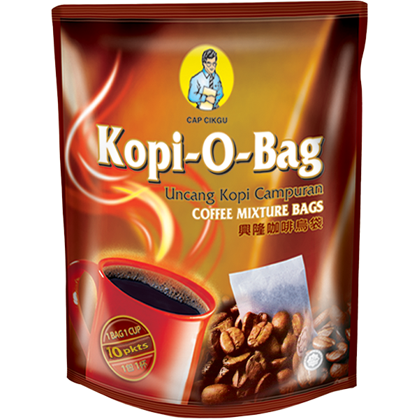 Produk Kopi Heng Loong Coffee Products Capcikgu kopi-o-bag 10pkts