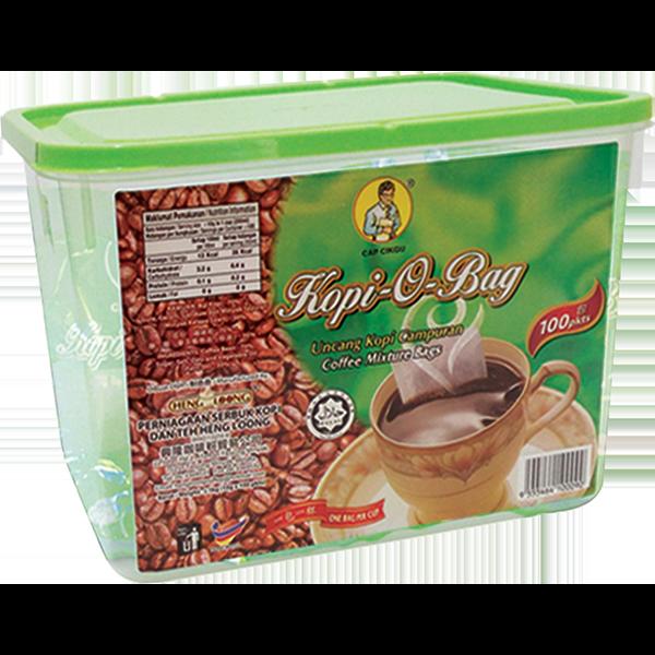 Heng Loong Coffee Products Capcikgu kopi-o-bag 100pkts